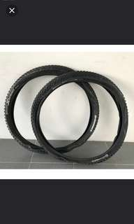 Brand new!  Continental X-King MTB Tyre - Wire Bead  ( one pair)