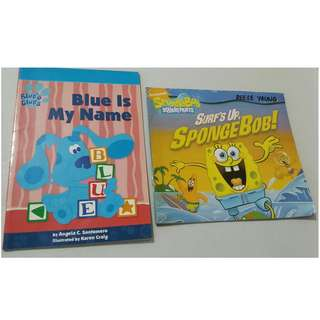 Lower Price! Set of 2 Children's Books for only P20.00