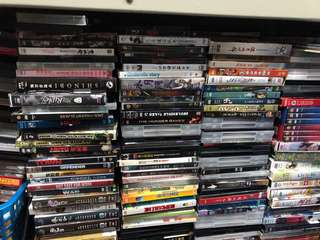 ASSORTED ENGLISH DVD MOVIE