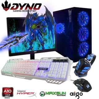 DYNO Desktop AMD A10-4600 Gaming Computer Package G
