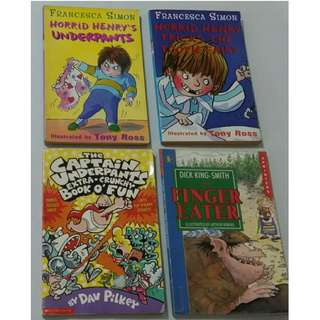 Set of 4 Children's Books, all for P80.00