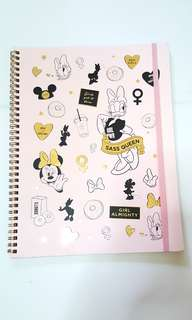 Typo A4 Disney Notebook Collection