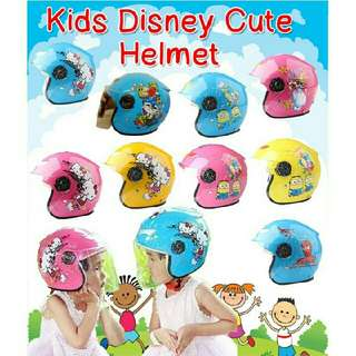 Kid Helmet Topi Budak