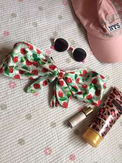 Cherry Bikini Top