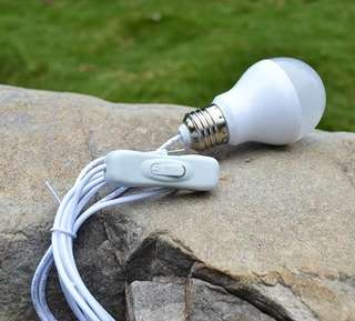 5W LED Light Bulb USB Power 5VDC
