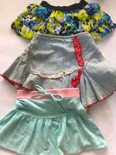 Skirt sets for girls 3-4t