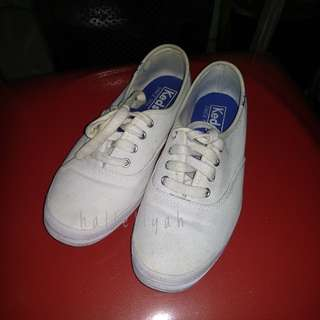 Keds White Canvas (Authentic)