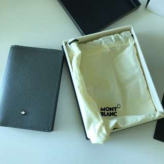 MONTBLANC 萬寶龍 Sartorial Business Card Holder 全新真品 卡片套 Wallet 銀包 gucci
