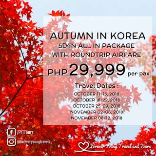 5D4N ALL IN SOUTH KOREA TOUR PACKAGE