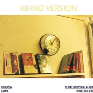 [WTB/LF] Seventeen Director's Cut Khino Version
