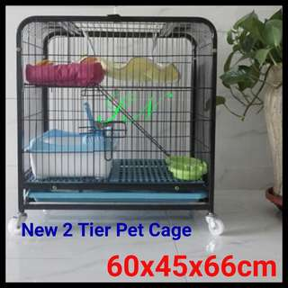 PET CAGE - Suitable For small animal, kitten, poppy
