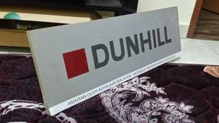 Vintage-Rare Dunhill Sign