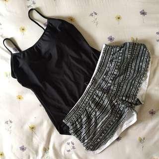 XL Printed Beach Shorts
