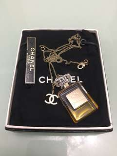Chanel No.5 bottle with CC logo Necklace頸鍊