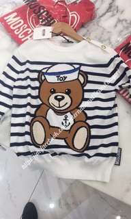 代購18' Moschino: Kids/ clothes/ Bear