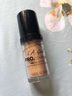 L.A girl pro coverage HD foundation