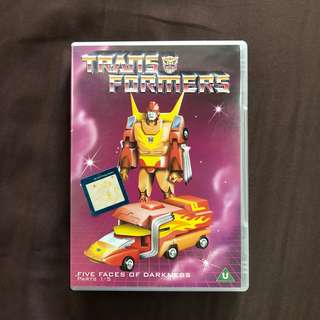 Transformers Five Faces of Darkness Parts 1-5
