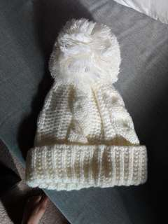 Cute Winter Beanie (worn once only at snow)