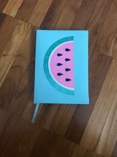 Fabric notebook