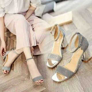 🍃Elegant Strappy Block Heeled Sandal