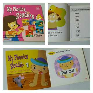 My Phonics Readers A (a collection of 6 stories to help children learn to read)
