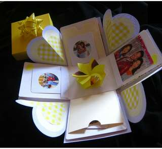 Birthday Gift Box Photo Album