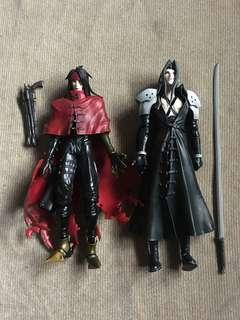 Final Fantasy VII, Advent Children - Sephirot and Vincent Valentine