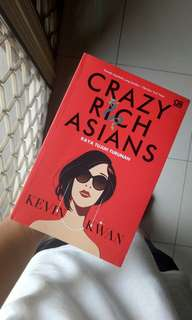 NOVEL Crazy Rich Asians versi Indonesia