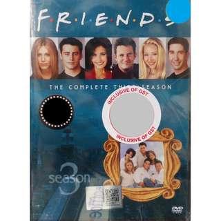 English Drama Friends The Complete Third Season DVD