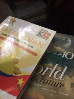 GRADE 10 BOOKS