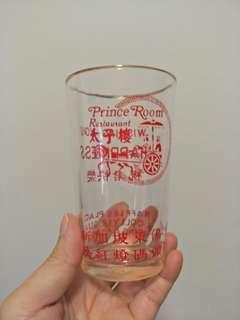 Prince Room Restaurant Glass