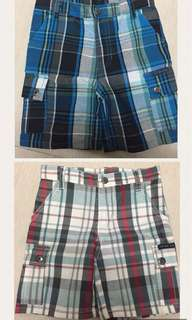 Cargo shorts for kids 2 in 1