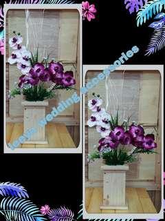 Bunga hiasan orkid purple