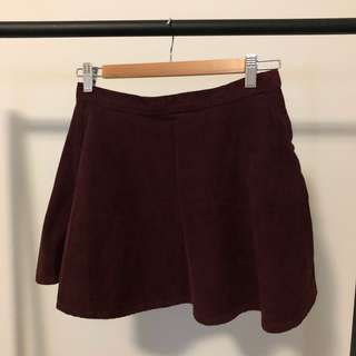 American Apparel Corduroy Circle Skirts