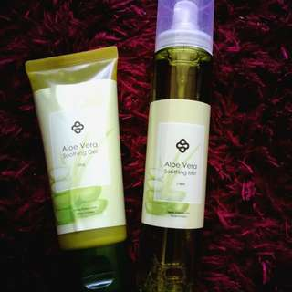 shizens mist and soothing gel #JAN50