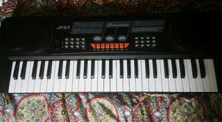 Electric Piano Organ Black