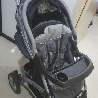 Pre loved weet cherry stroller