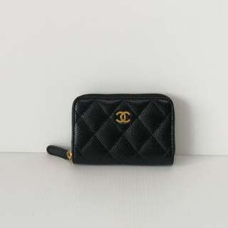 Authentic Chanel Small Zippy Purse