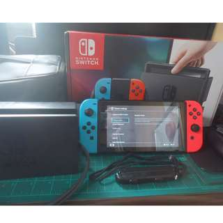 Nintendo Switch complete with Accessories