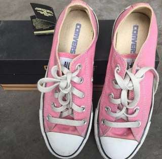 Authentic Converse All Star Pink Low Cut