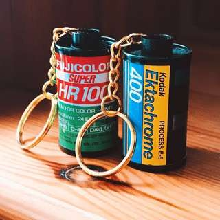Original Film Canister Keychains