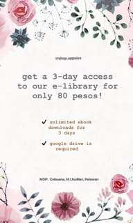 3-DAY ACCESS TO EBOOKS