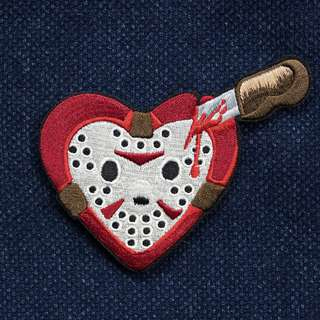 Redacted Design - Horror Heart - Friday the 13th