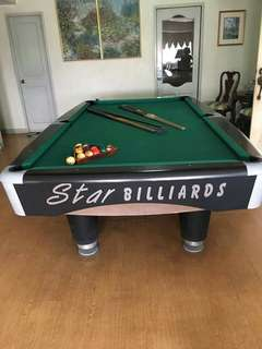 Billiard Table and Set