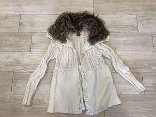 Warm white jacket