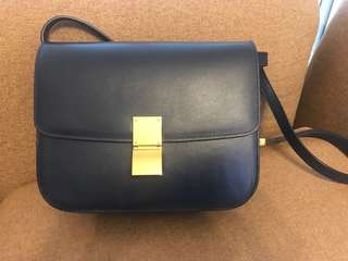 Celine Box medium dark blue