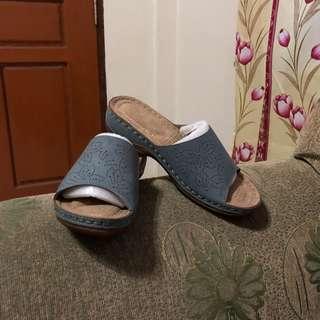 CLN mirra blue sandals