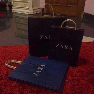 ZARA PAPER BAG