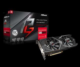 (OUT OF STOCK!!) Asrock Phantom Gaming RX580 8GB
