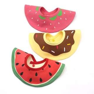 口水肩/水果